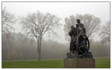 PIoneer Family in the Mist by Nikoneer, photography->sculpture gallery