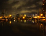 Harbour Lights by LynEve, photography->shorelines gallery
