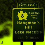 AU Road Signs - Exit 255 by Jhihmoac, illustrations->digital gallery