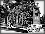 Old Circus Wagon - B&W Challenge by trixxie17, contests->b/w challenge gallery