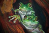 playing around by zokce, Contests->Draw a Frog gallery