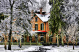 Winter At Hayes House, '08 by Jimbobedsel, Photography->Architecture gallery