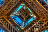 Getting An Eiffel Looking Up by gr8fulted, photography->architecture gallery