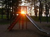 Sunlit Slide by Terrydel, Photography->Sunset/Rise gallery