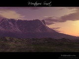Mountainous Sunset by AmNeSiA, Computer->Landscape gallery