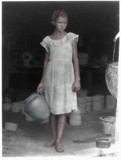 Girl carrying a crock by rvdb, photography->manipulation gallery
