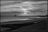 Sunset Arrival In B&W by corngrowth, contests->b/w challenge gallery
