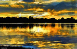 As The Sun Sets On Center Lake _Watercolor by tigger3, rework gallery