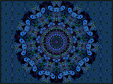Mandelbulb Turned Kaleidoscope by Joanie, abstract->fractal gallery