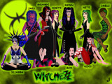 A Few Witchezz by Jhihmoac, illustrations->digital gallery