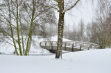 Footbridge by Heroictitof, photography->bridges gallery