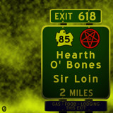 AU Road Signs - Exit 618 by Jhihmoac, illustrations->digital gallery