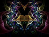 Peace Is Flowing Like A River by Joanie, Abstract->Fractal gallery