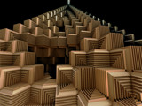 Boxed Pyramid by Joanie, abstract->fractal gallery