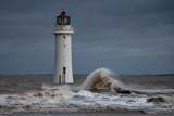 A Dark And Dreary Day #2 by braces, Photography->Lighthouses gallery