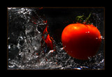 random tomato dropping by JQ, photography->food/drink gallery