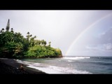 Honoli'i black sand beach, Hilo, Hawaii by lemur, Photography->Shorelines gallery