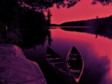 Algonquin Park Canoes by mesmerized, photography->water gallery