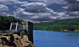 Pleasant Hill Lake Dam Area by Jimbobedsel, photography->water gallery
