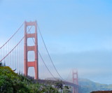 Golden Gate with some fog by a2002swim, photography->bridges gallery