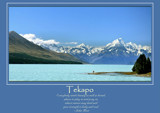 Tekapo Poster by LynEve, photography->mountains gallery