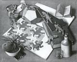 Escher 1 by MC Escher, Illustrations->Traditional gallery