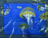 jELLYFISH - the oil by rotcivski, illustrations->traditional gallery