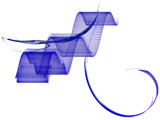 Pen & Ink in Cobalt by Hottrockin, Abstract->Fractal gallery