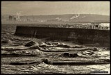 Choppy on the Headland by Dunstickin, photography->shorelines gallery