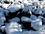 Snow Rocks by jojomercury, photography->nature gallery