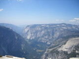 Yosmite Valley from Half Dome by Squadron56, Photography->Landscape gallery