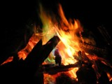 Colorful Campfire by veggieboy12987, Photography->Fire gallery