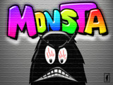 Just Anotha Monsta... by Jhihmoac, Illustrations->Digital gallery
