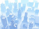 Bluecity by Saily, computer->landscape gallery