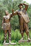 Two great people by Bursa, photography->sculpture gallery
