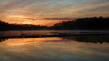 Sunrise at the Boy Scout camp by ted3020, photography->sunset/rise gallery