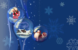 snow globes by SFDesigns, Holidays->Christmas gallery