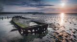 Wrecked on the wad by japio, photography->landscape gallery