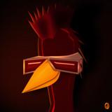 Red Island Roadie by Jhihmoac, illustrations->digital gallery