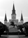 Jackson Square by LakeMichigan, contests->b/w challenge gallery