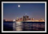 Early Morning Detroit Skyline by gerryp, Photography->Manipulation gallery