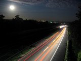 Full Moon Over A63 by brunello, Photography->Transportation gallery