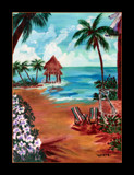 Canvas Painting: It Must be Paradise!! by verenabloo, Illustrations->Traditional gallery