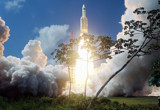 Ariane 5 ECA: Herschel & Planck Launch. by philcUK, space gallery