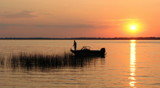 Still fishing at sunset by antonia02, Photography->Sunset/Rise gallery