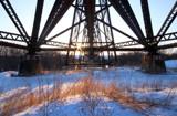 Steel & Grass by Nikoneer, photography->bridges gallery