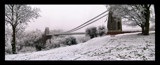 Clifton Suspension Bridge in snow (again!) by Mannie3, photography->bridges gallery