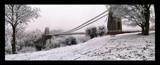 Image: Clifton Suspension Bridge in snow (again!)