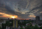 Sunset over my neighbourhood by Gothic, Photography->Sunset/Rise gallery