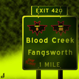 AU Road Signs - Exit 420 by Jhihmoac, illustrations->digital gallery